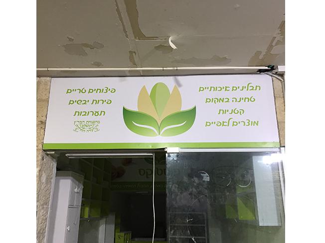 השלט - פרוייקט פיסטוקס